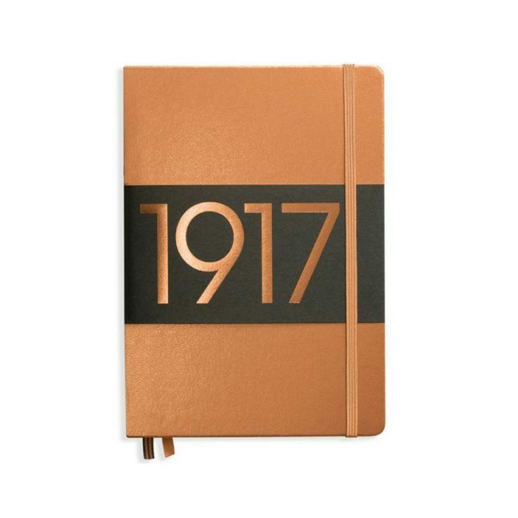 Leuchtturm1917 pistesivuinen muistikirja bujoiluun ( Bullet Journaling).