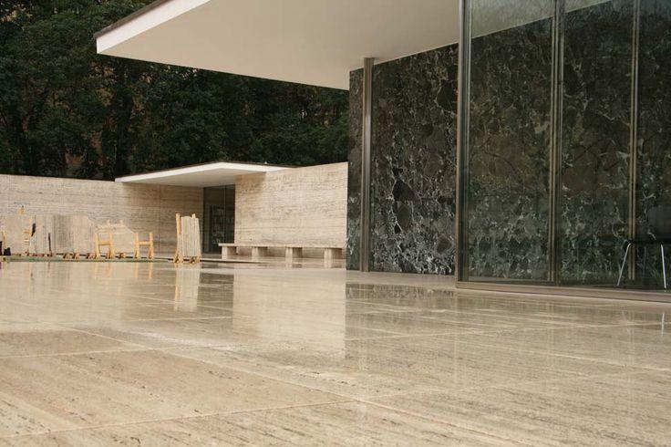 Barcelona, Pavello Mies van der Rohe #Barcelona #Architecture #MiesVanDerRohe