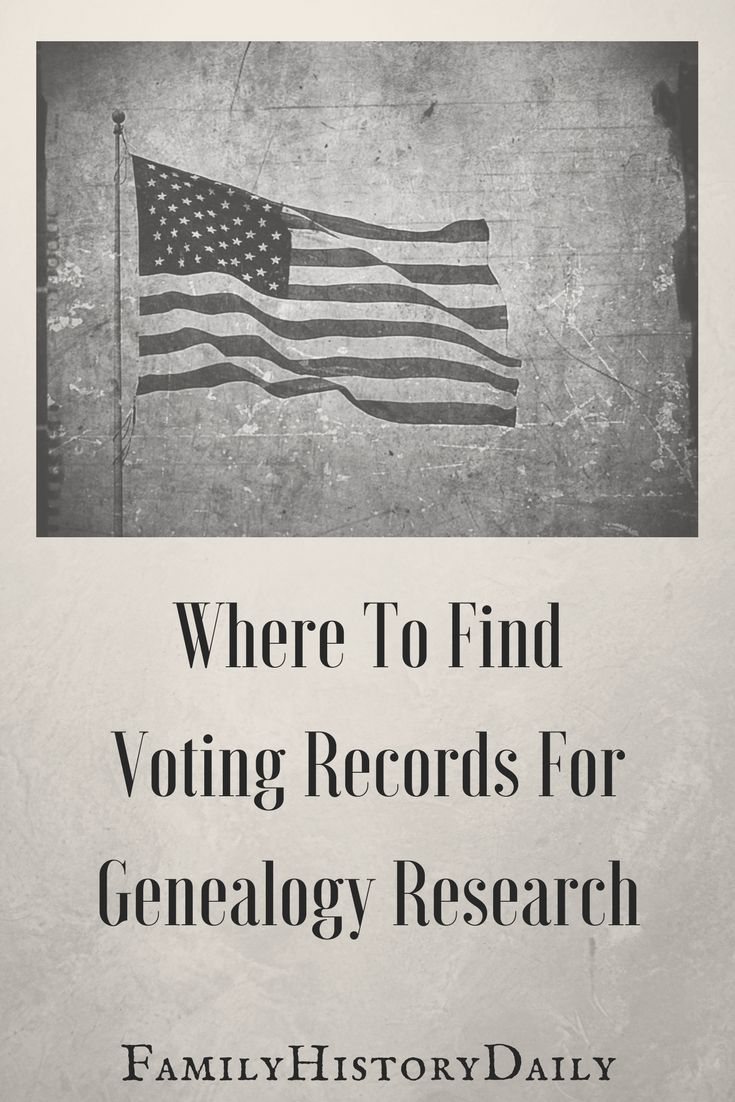 Genealogy Research Tips: Do you use voting records in your genealogy research? These documents can provide key details about your ancestors.