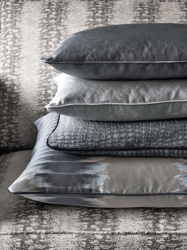 Pillows from the 2015 Jane Churchill Collection at Cowtan & Tout #fabric #cowtanandtout #WDCDesign