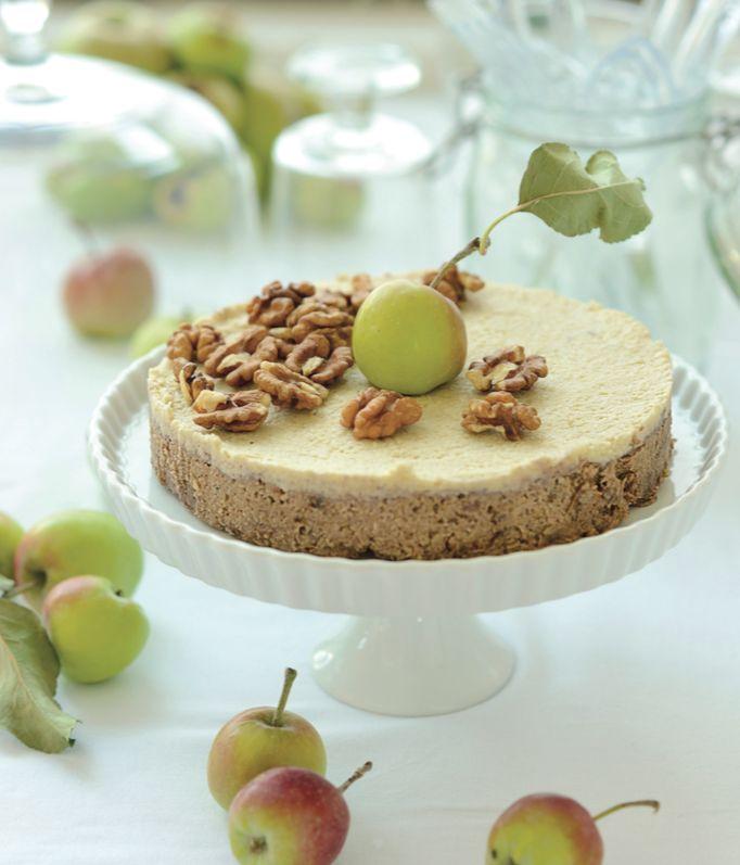 Nepečená jablkovo orechová torta - SLADKA EMA