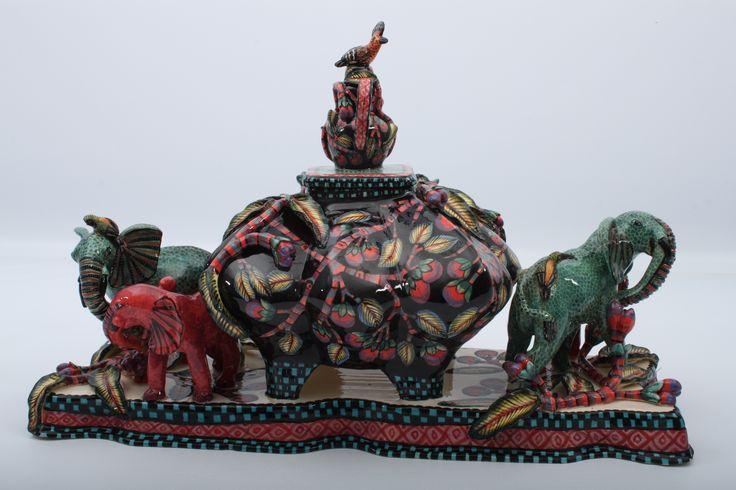 Elephant Urn