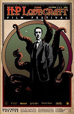 : H.P. Lovecraft Film Festival poster