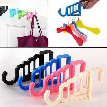 Прочный много - функция пластик дверь ванная стена держатель для сумки крюк шляпа полотенце подвесной стойка для пальто одежда держатель