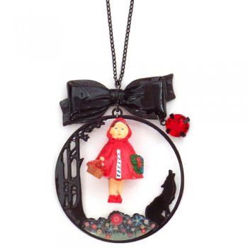N2 Little Red Riding Hood necklace | Little Moose | Cute bags, gifts, toys, jewellery and accessories from independent designers and famous brands