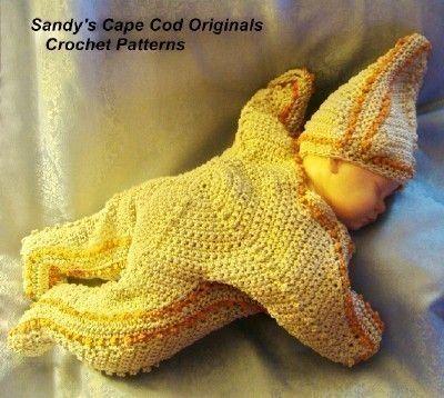 182 PDF Starfish Bunting and Hat Crochet by SandysCapeCodOrig, $5.95: Hat Crochet Patterns, Hats Crochet Patterns, Crochet Baby, Baby Crochet, Baby Buntings, Baby Photoshoot, Photos Props, Starfish Buntings, Baby Stuff