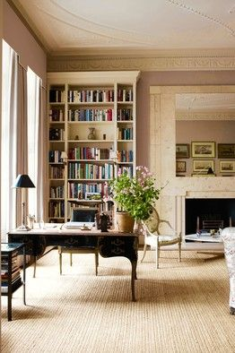 [ANATOMY] Simon Upton/Interior Archive    Veere Grenney's apartment in London