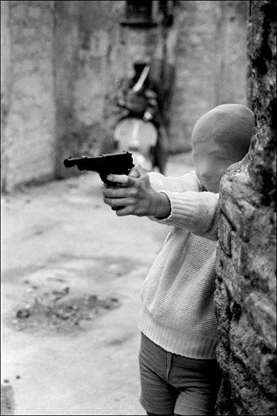 Palermo, 1982. Near the church of Santa Chiara // Photograph: Letizia Battaglia