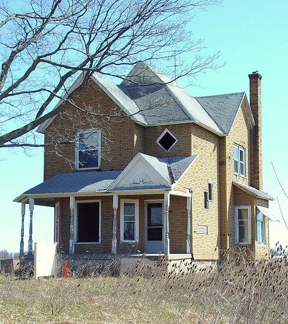 Abandoned Victorian that will hopefully steal someone's heart who has the money to restore it!