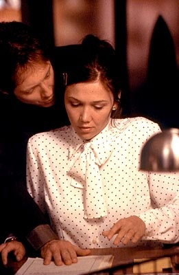 James Spader & Maggie Gyllenhaal in Secretary - Seriously, to me this movie is really romantic.