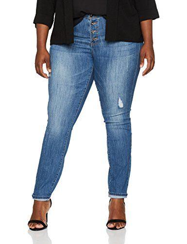 cool Ulla Popken Große Größen Damen Straight Jeans Jeanshose mit Destroy-Effekten Blau (Bleached 92), 56 Check more at https://designermode.ml/shop/77028031-bekleidung/ulla-popken-grosse-groessen-damen-straight-jeans-jeanshose-mit-destroy-effekten-blau-bleached-92-56/