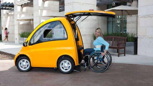 Kenguru Electric Mobility Vehicle For The Disabled