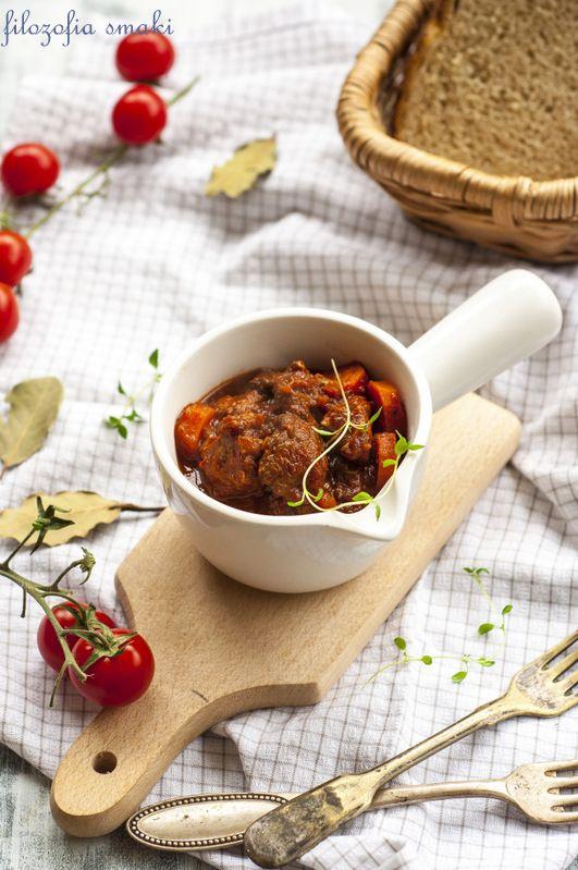 Gulasz wieprzowy we włoskim stylu/Italian Pork Stew