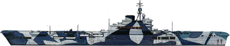 HMS Illustrious 1942