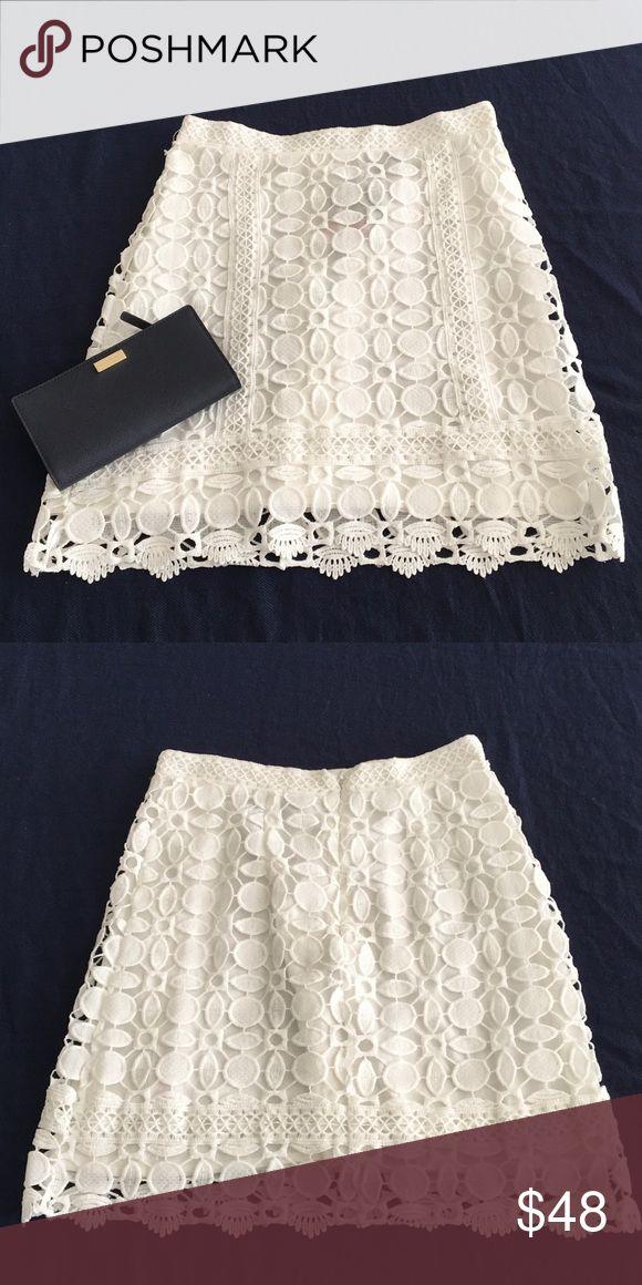 NWT Topshop skirt 💕 NWT Topshop lace skirt 💕. No trade please Topshop Skirts