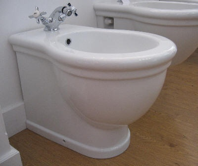 Paestum Back to Wall Bidet 570mm Projection