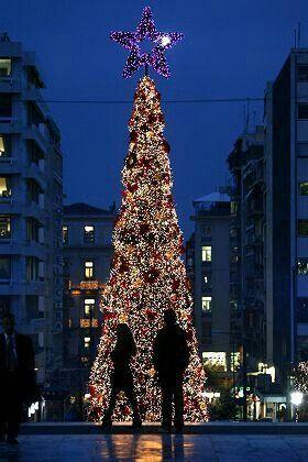 Χριστουγεννα στην Αθηνα.