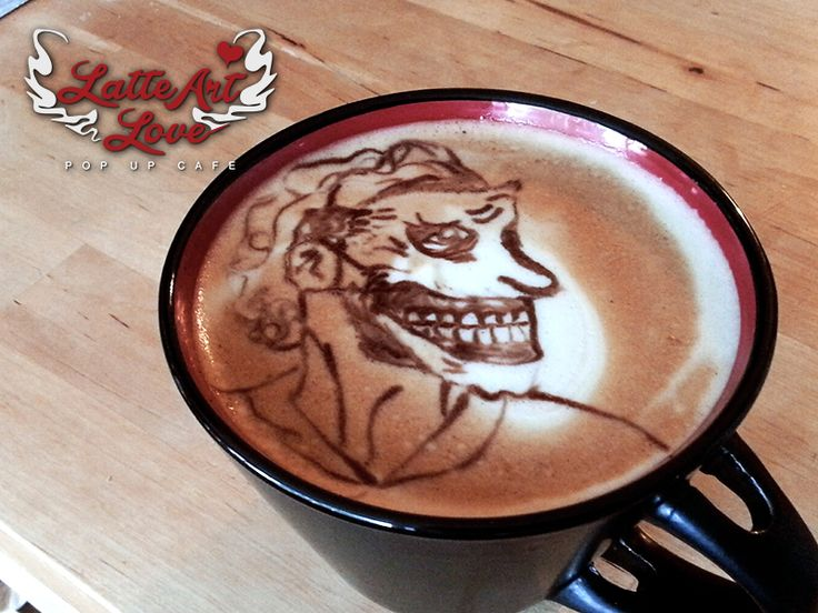 The most creepy version of the Joker ... Coffee: Fratello Coffee - Godfather