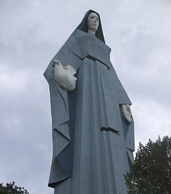 Virgen de la Paz, Trujillo, Trujillo State, Venezuela - Taller than the Statue of Liberty, you can climb all the way up to her eyes