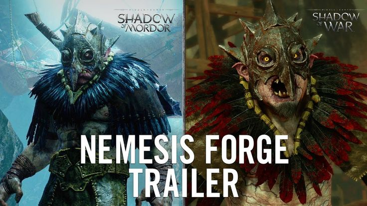 Official Shadow of Mordor Nemesis Forge Trailer