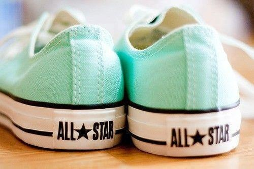 Beach Glass Converse <3. These are now in my closet!!!