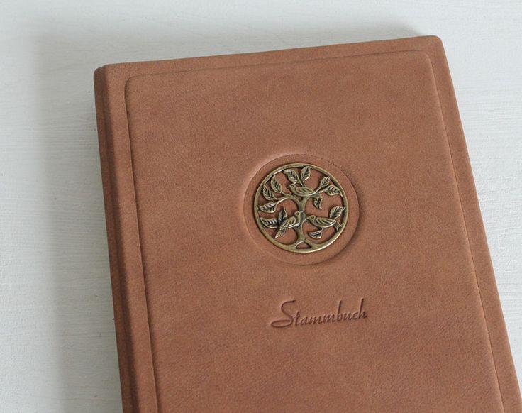 Hochzeitsalben - Stammbuch DIN A5 ♥LEBENSBAUM♥ - ein Designerstück von Ivona bei DaWanda