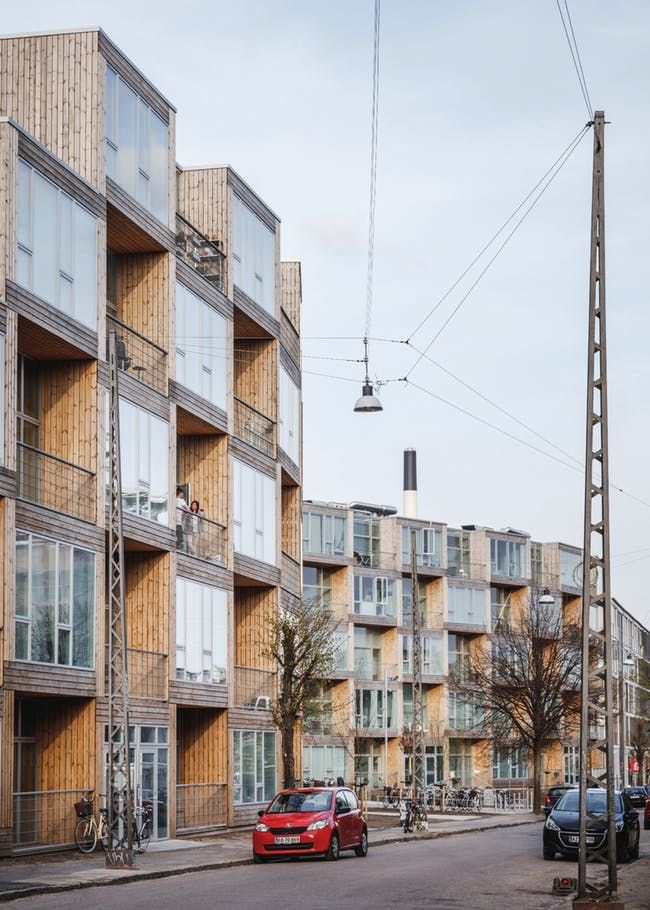 Big Completes Checkered Dortheavej Affordable Housing Complex In Copenhagen Low Income Housing Social Housing Architecture Affordable Housing
