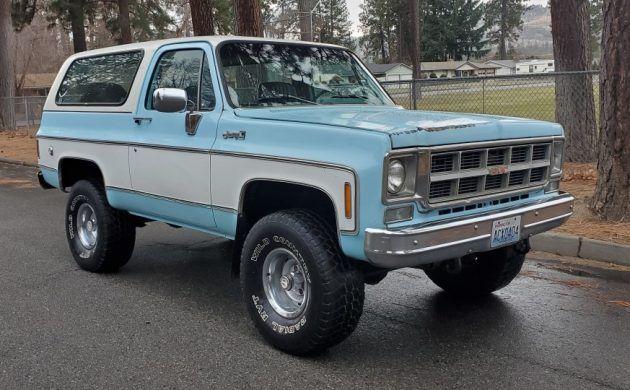 55k Original Miles 1978 Gmc Jimmy Gmc Chevrolet Blazer Chevy Diesel Trucks