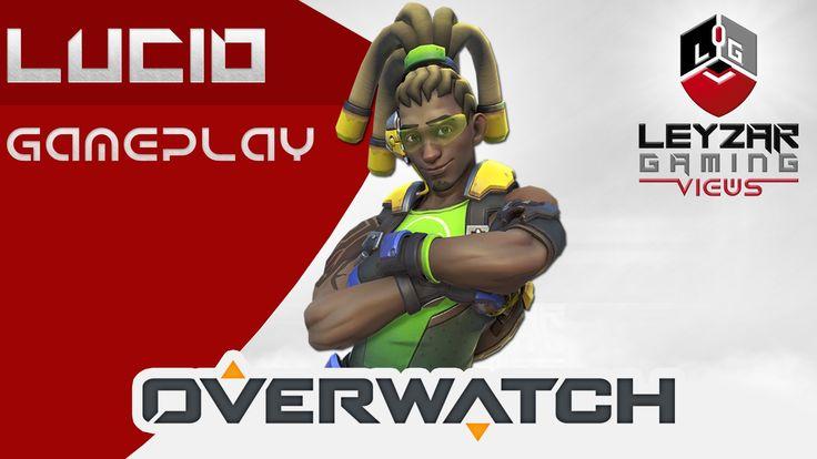 Overwatch Gameplay - Lucio Support  (Watchpoint Gibraltar Lucio Gameplay)