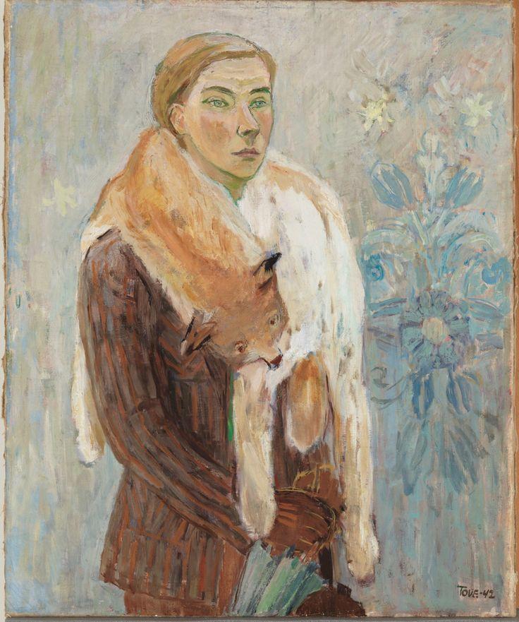 Tove Jansson, Lynx Boa (Self-Portrait)