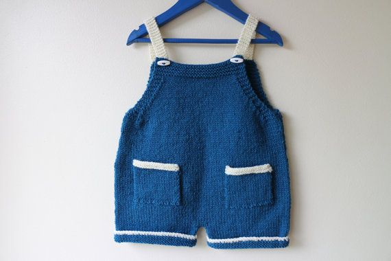Check out this item in my Etsy shop https://www.etsy.com/listing/238102029/hand-knitted-baby-dungarees-baby-romper