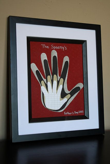 doing this!: Gift Ideas, Family Handprint, Father'S Day, Hand Prints, Fathers Day, Craft Ideas, Kid