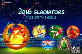 The new 2016 Gladiators online slot by Endorphina is based around the Olympic Games, and it has a tremendous atmosphere that players will love.