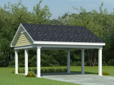 Carport Plans & Carport Designs – The Garage Plan Shop