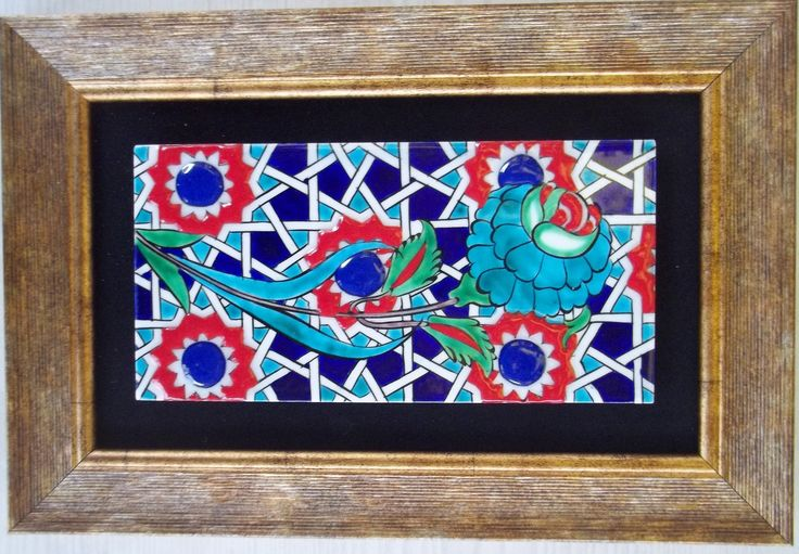 ceramic tile kütahya marmara çini mystic art gallery