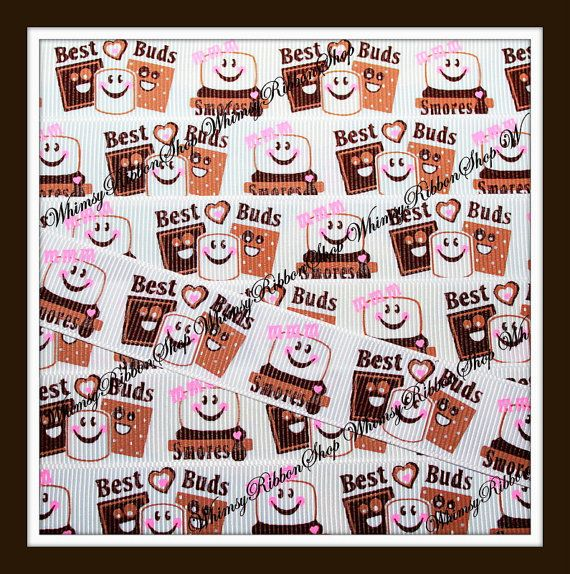 New 3 Yards 7/8 Sweet Chocolate BEST BUDS by WhimsyRibbonShop, $4.95Ribbons Crafts, Yards 78, 7 8 Sweets, Crafts Supplies, Yards 7 8, Sweets Chocolates