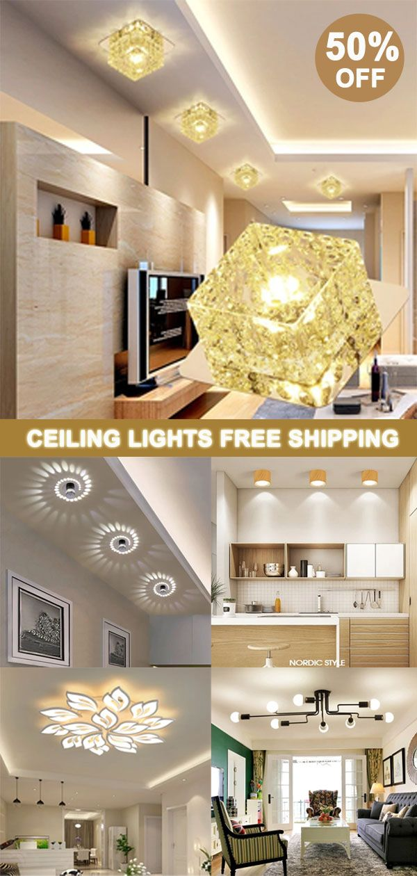 Modern Crystal Led Ceiling Lights For Living Room Bedroom Home Deco Ceiling Lamp Ceiling Lights Led Ceiling Lights Ceiling Pendant Lights