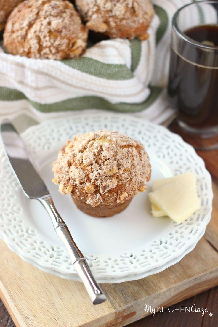 Buttermilk Spice Muffins (Mimi's Cafe Copycat) | Nom Nom ...