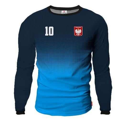 LIGA BARCELONA Goalkeeper Jersey With Custom Name And Number blue & dark blue