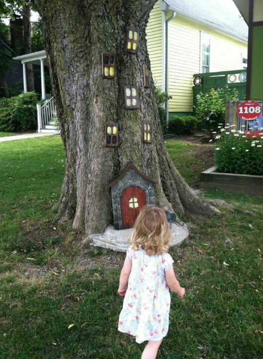 31 Best Images About Tree Stump Fairy Houses On Pinterest