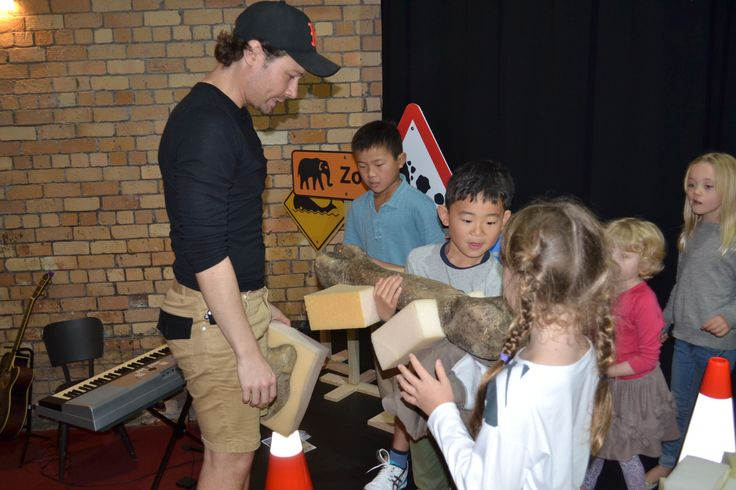 Little Yellow Digger theatre workshop. October 2014.