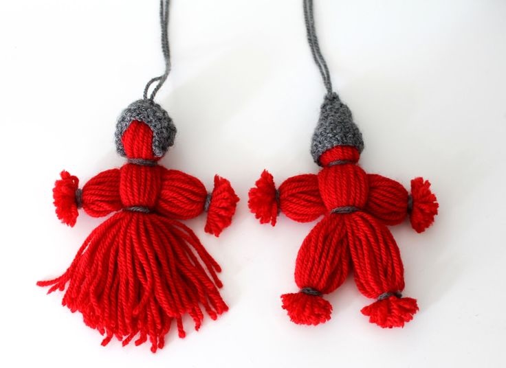"Christmas tree decorations Ornaments FREE UK shipping Yarn gnomes ""garntomtar"" traditional Swedish Scandinavian Christmas decorations by petalbluedotcom on Etsy https://www.etsy.com/listing/463981434/christmas-tree-decorations-ornaments"
