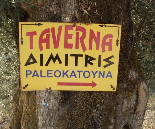 Dimitris Taverna, Nidri: Se 151 objektive anmeldelser af Dimitris Taverna, som har fået 4,5 af 5 på TripAdvisor og er placeret som nr. 12 af 65 restauranter i Nidri.