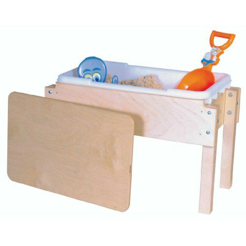 Kidsu0027 Tables   Wood Designs Petite Tot Sand And Water Table With Lid 18 X  28 X 15 H X W X D ** Check Out The Image By Visiting The Link.