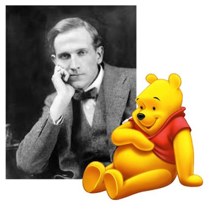 """HAPPY BIRTHDAY A.A. MILNE, CREATOR OF WINNIE THE POOH  Winnie the Pooh, the """"Bear of Very Little Brain,"""" continues to be a bear with lots of fame.  wINNIW THE Pooh is honored every January 18th, otherwise known as Winnie the Pooh Day as it's the birthday of Alan Alexander Milne (A.A. Milne)  You can read about the author here:-  http://www.biography.com/news/winnie-the-pooh-author-biography-facts  #winniethepooh  #poohbear  #aamilne  #author  #disney   Posted by Sandra from…"""