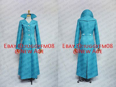 Despicable Me 2 Lucy Wilde Coat Cosplay Costume With lining Jacket