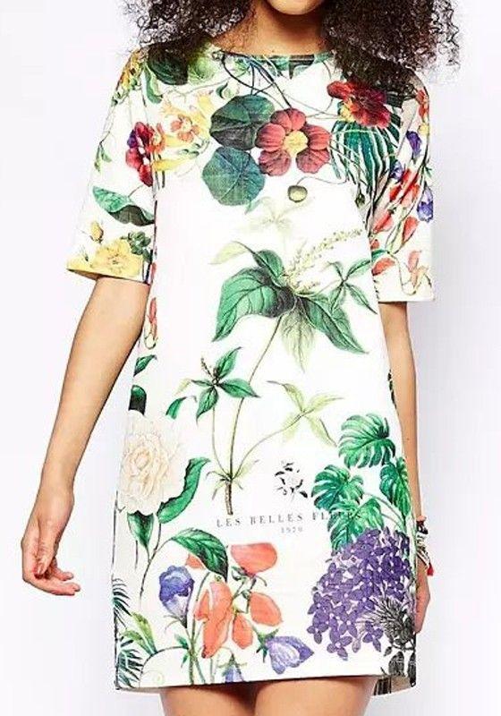 Floral Print. #dress