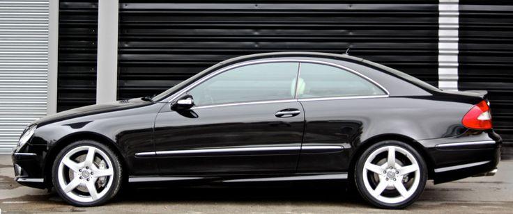Mercedes-Benz CLK320 CDI AMG Coupe.