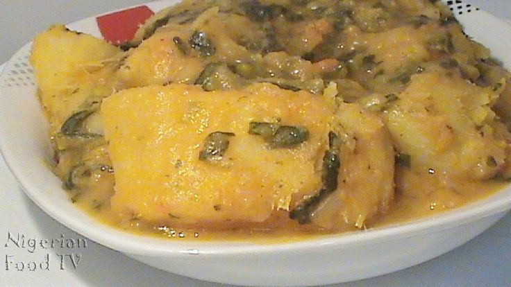 Nigerian Yam Porridge with Vegetables (Asaro) | Nigerian Food Recipes, Nigerian Recipes |