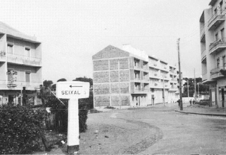 Seixal- Rotunda da Torre da Marinha 1962